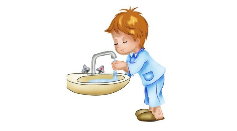Навыки гигиены у ребенка